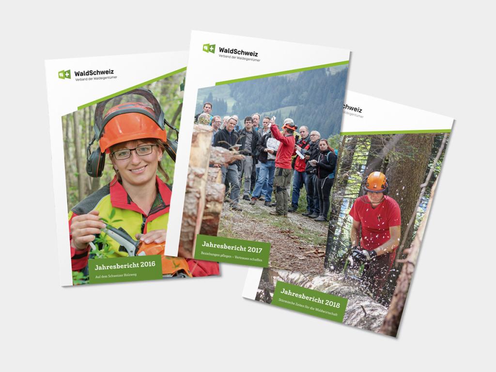 Jahresbericht WaldSchweiz