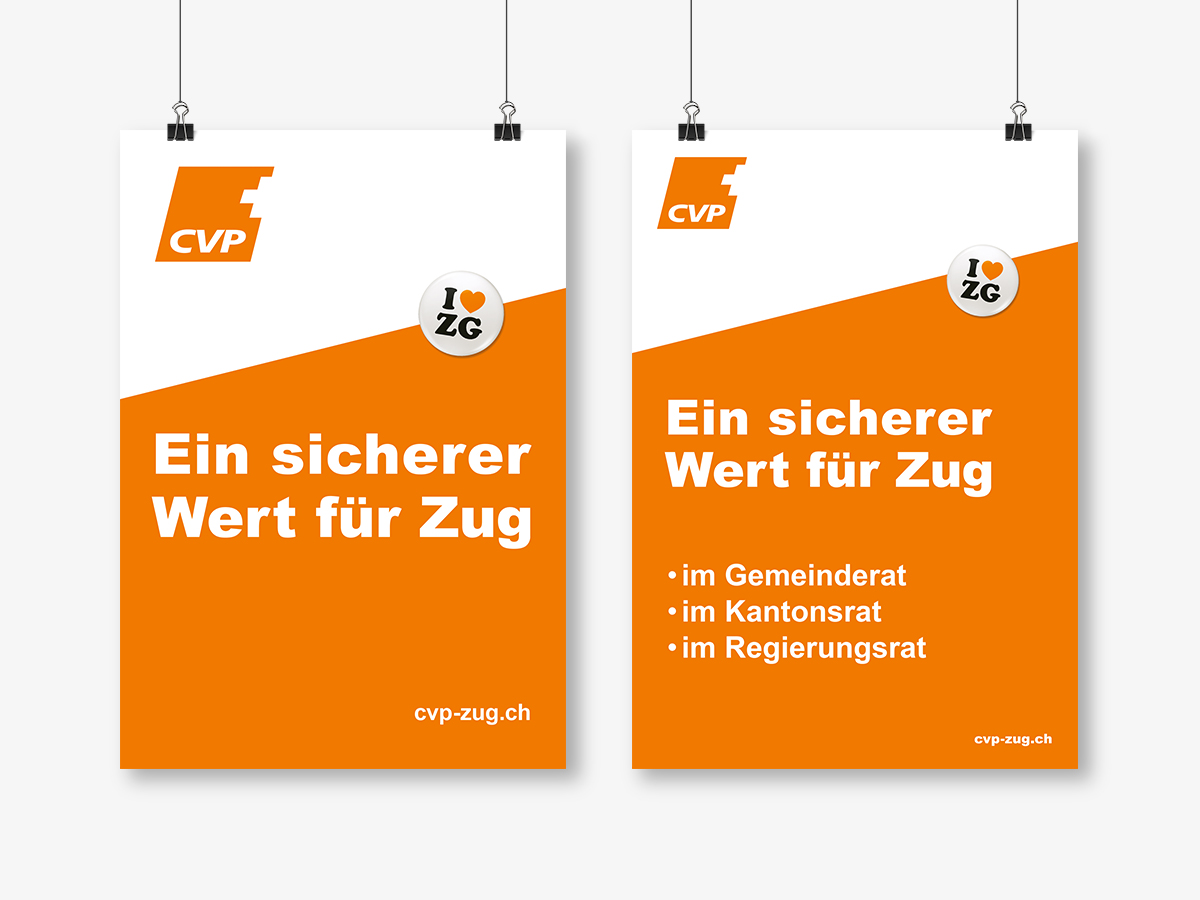 Plakate CVP