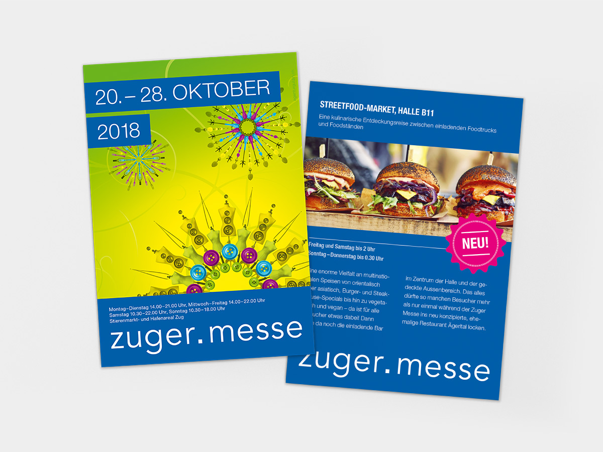 Flyer Messe Zug