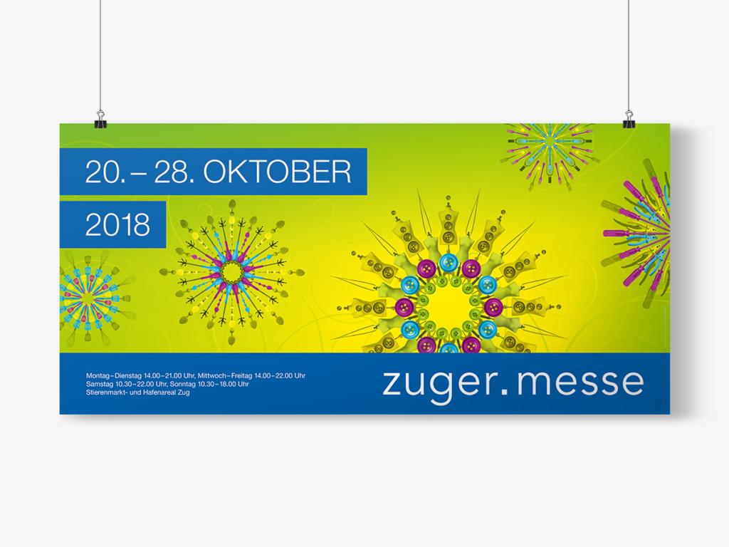 Plakat Messe Zug