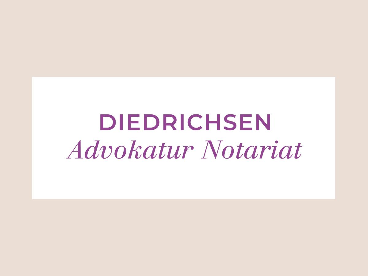 Logo Diedrichsen Advokatur Nortariat