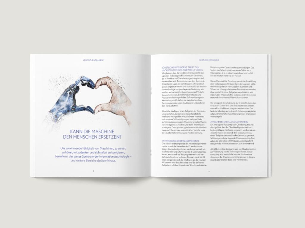 Julius Bär – Broschüre Alpha Konferenz 2019 – © Julius Bär