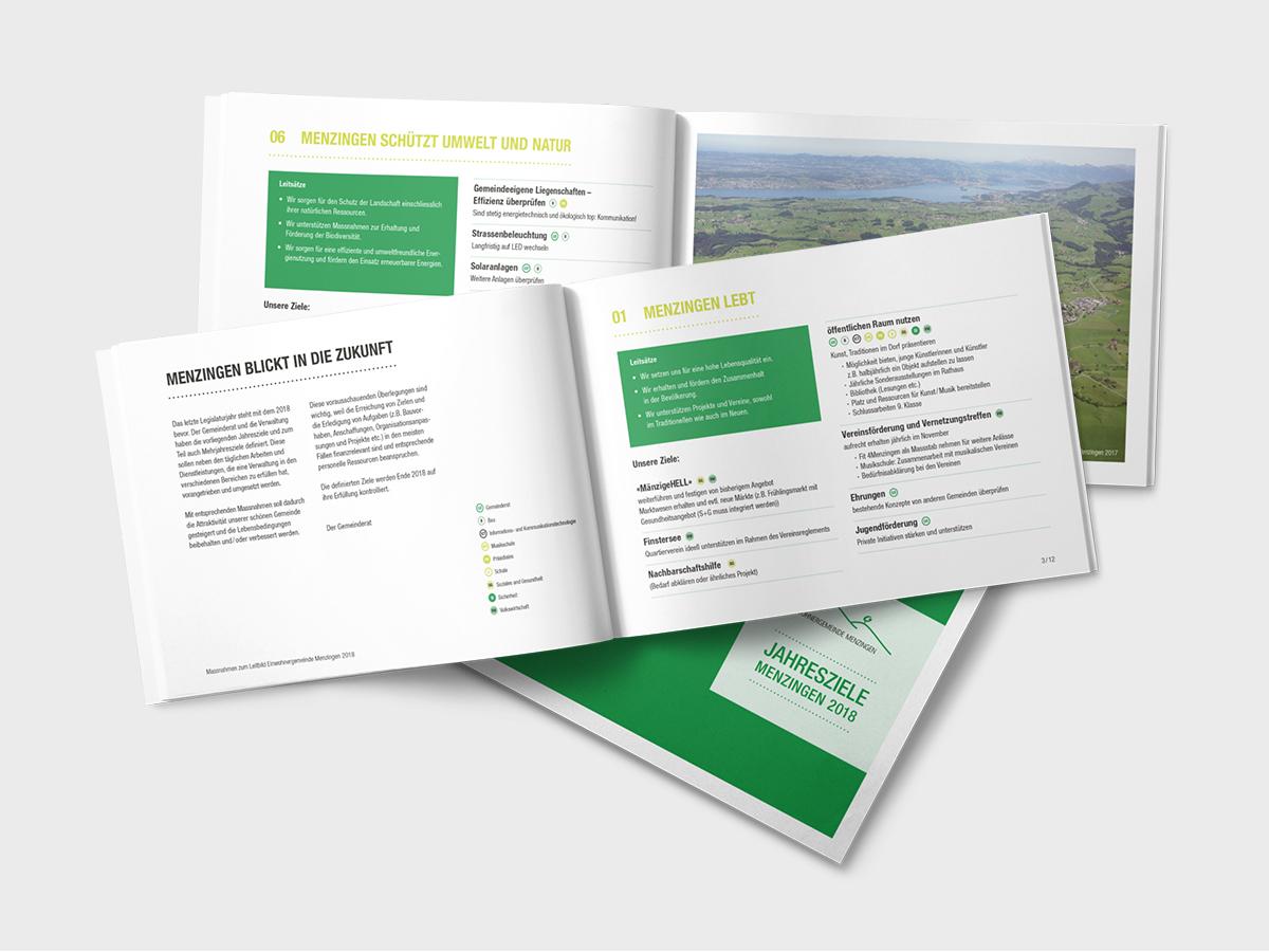 Booklet Gemeinde Menzingen