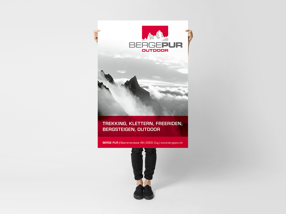 Poster Bergepur Outdoor